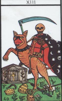 Resultado de imagen de la muerte en el tarot